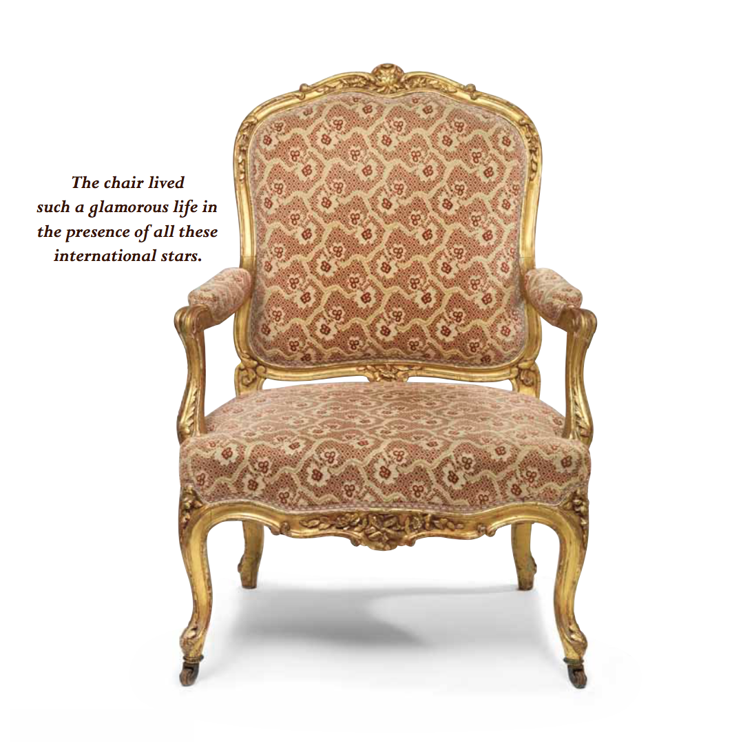 Please Be Seated -More Historic Chairs | The glamorous life of chairs