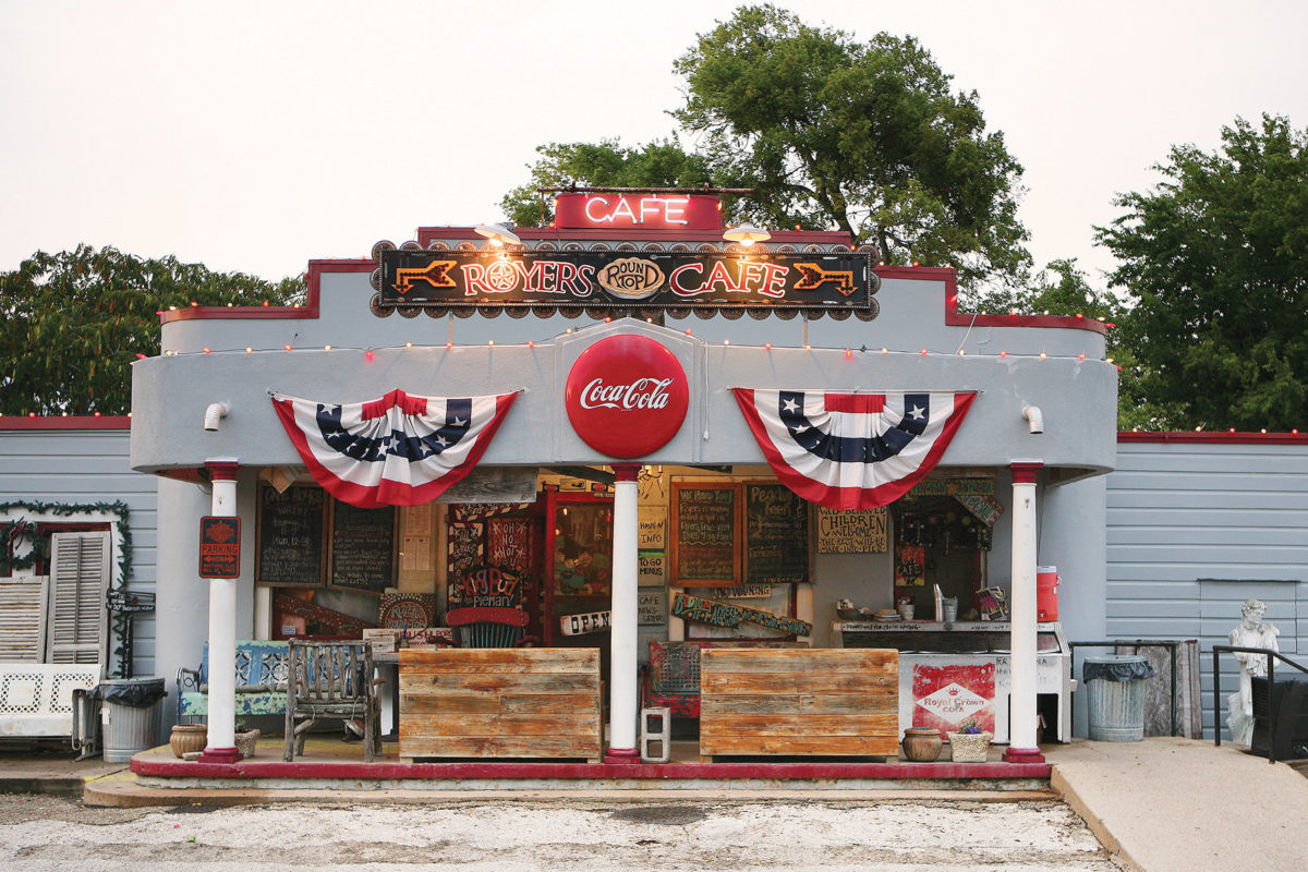 Royers Cafe | Round Top Tour | Antiques Diva