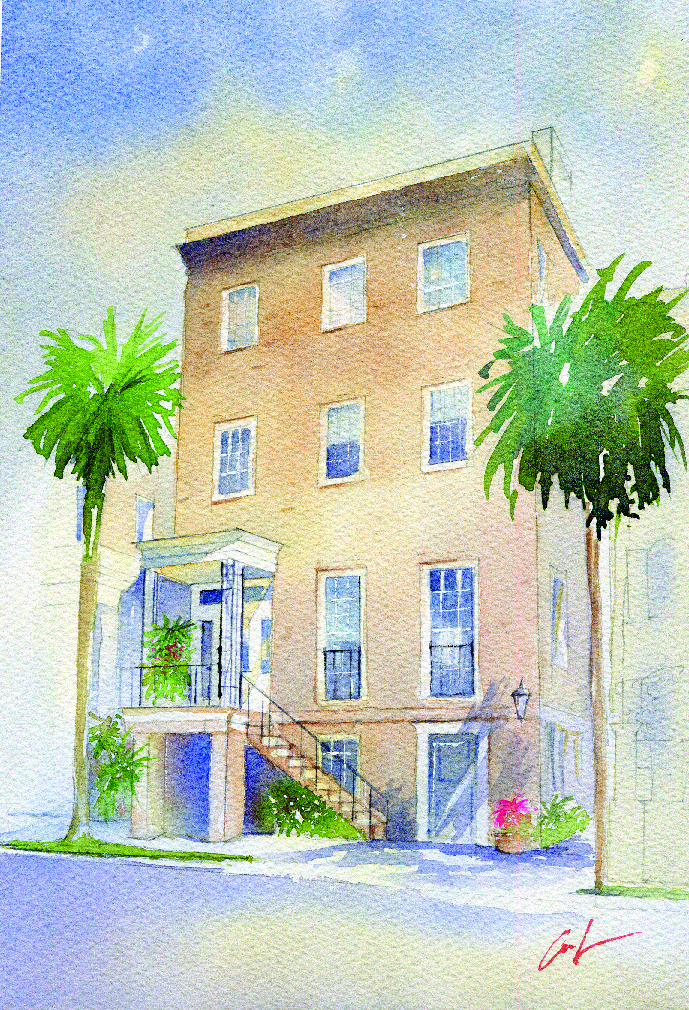 SCAD SOUTHERN STYLE NOW HOME RENDERING
