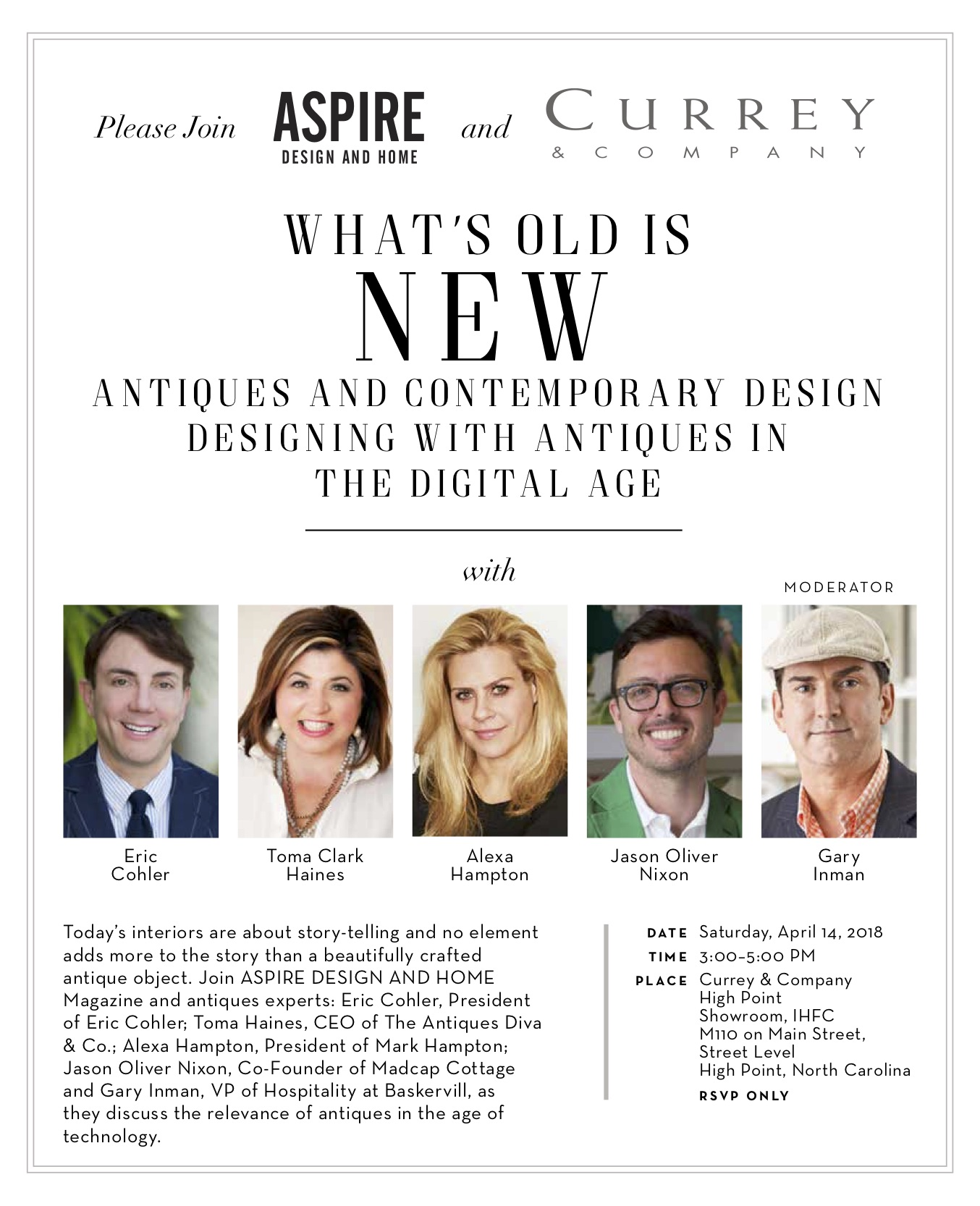 WHAT'S OLD IS NEW- ANTIQUES and CONTEMPORARY DESIGN with Toma Clark Haines The Antiques Diva