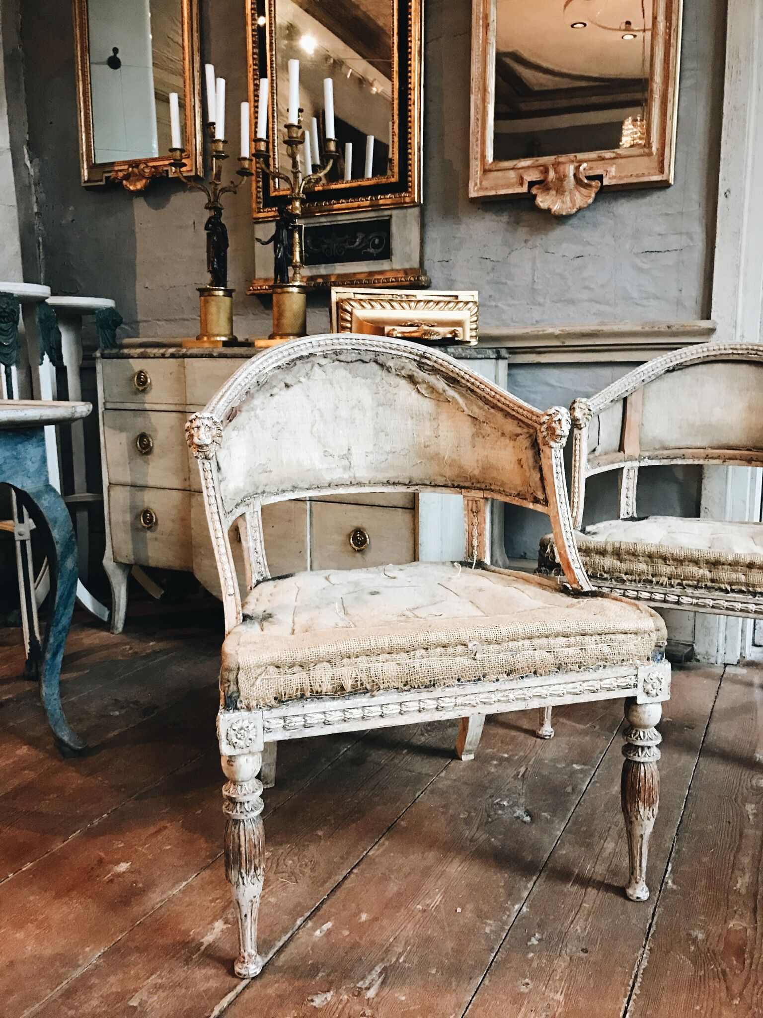 Antique Swedish chair: Source Antiques Like the Pros- Why Sweden is HOT for Sourcing Antiques | Toma Clark Haines | The Antiques Diva & Co