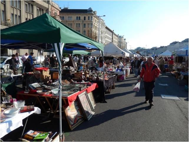 Vienna flea market