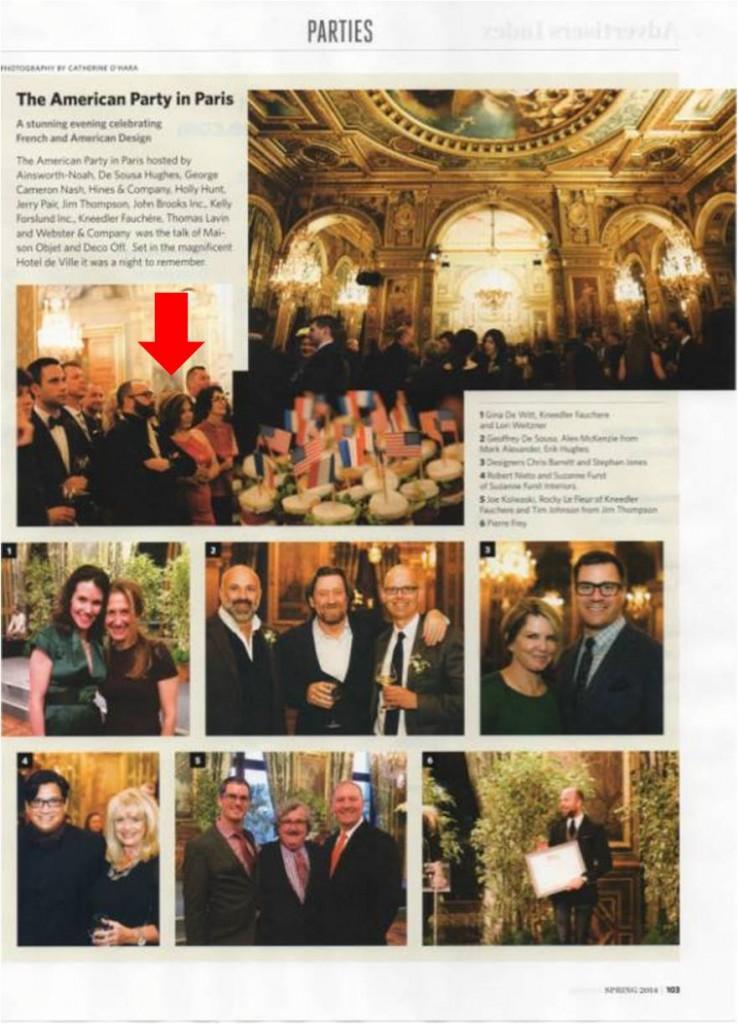 americans in paris party california home magazine
