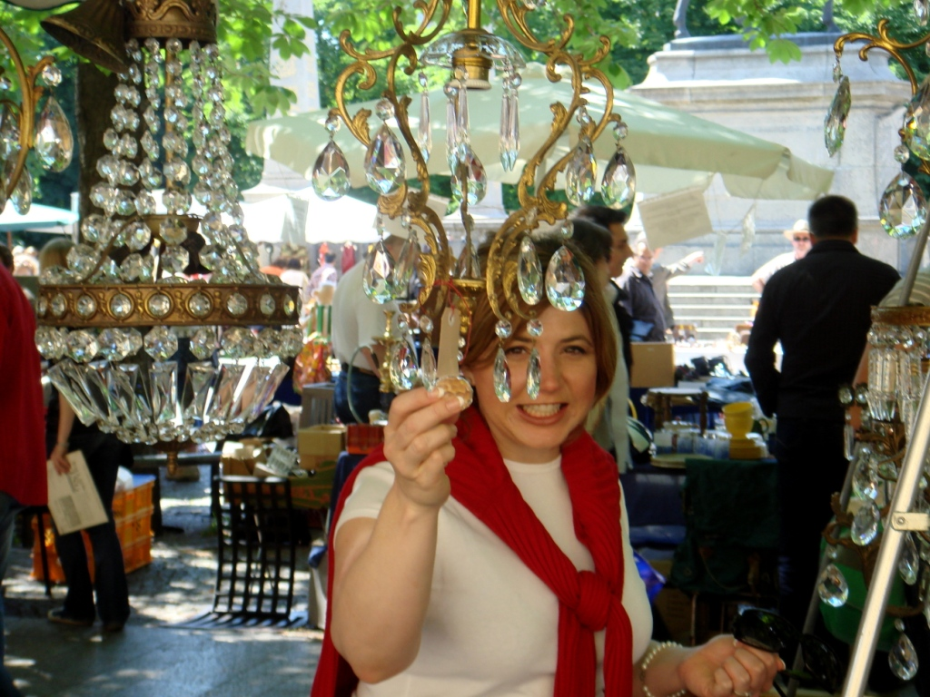 The Antiques Diva, Toma Clark Haines, Paris flea market