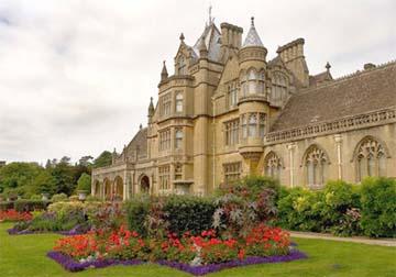 TyntesfieldHouse, english garden, antiques diva