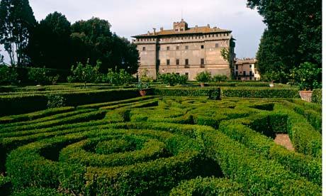 Castello Ruspoli, Vignanello, Italy, Garden Tours of Italy, Sourcing antiques in Italy