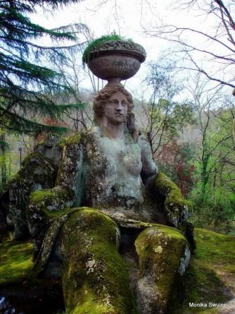 parco mostri, italian architectural salvage tours, antiques diva