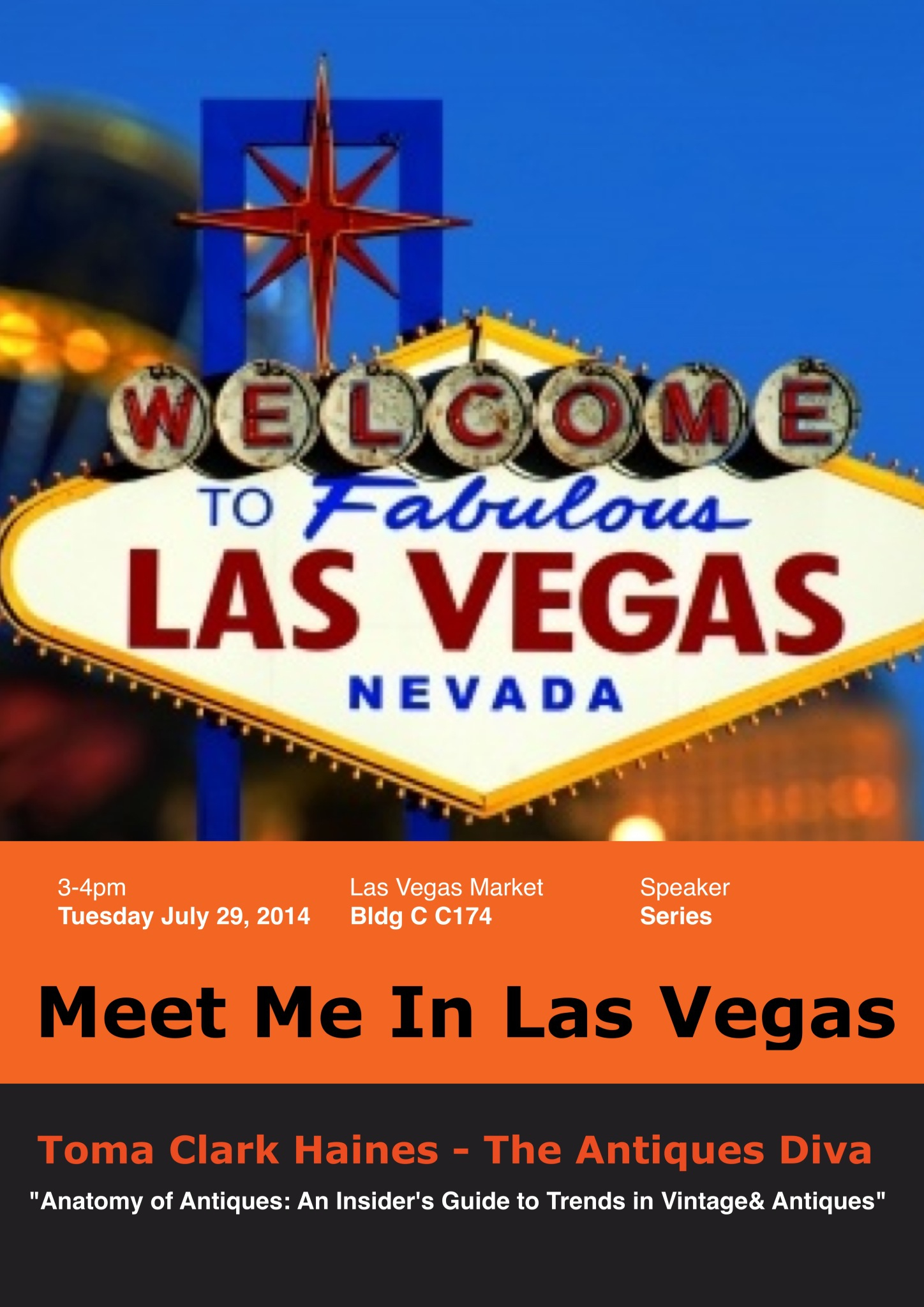 Las Vegas Market, Toma Clark Haines, The Antiques Diva Speaking Engagement, Timothy Corrigan, Susanna Salk, Thom Filicia, Michelle Nussbaumer, Scott Eckman, Trends in Antiques, Trends in Vintage