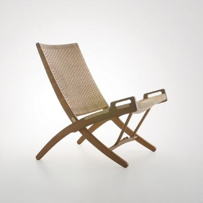 hans-wegner-folding-chair, Swedish Antiques, Mid-Century Design, Trends in Antiques, Sleek mid-century chairs, Swedish Design, The Antiques Diva, Modernista,