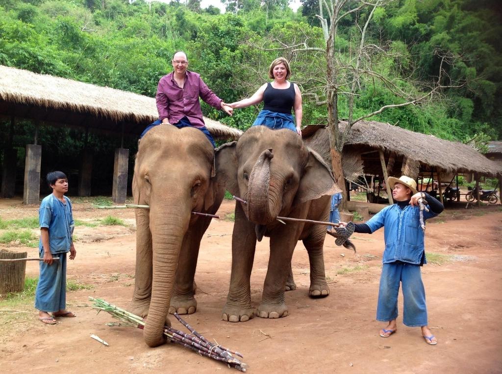 Mandarin Oriental, Bangkok, Anantara Elephant Camp, Golden Triangle,