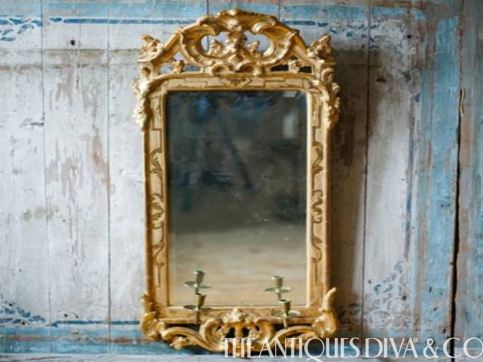 Decorating with Antique Mirrors - The Antiques DivaThe ...