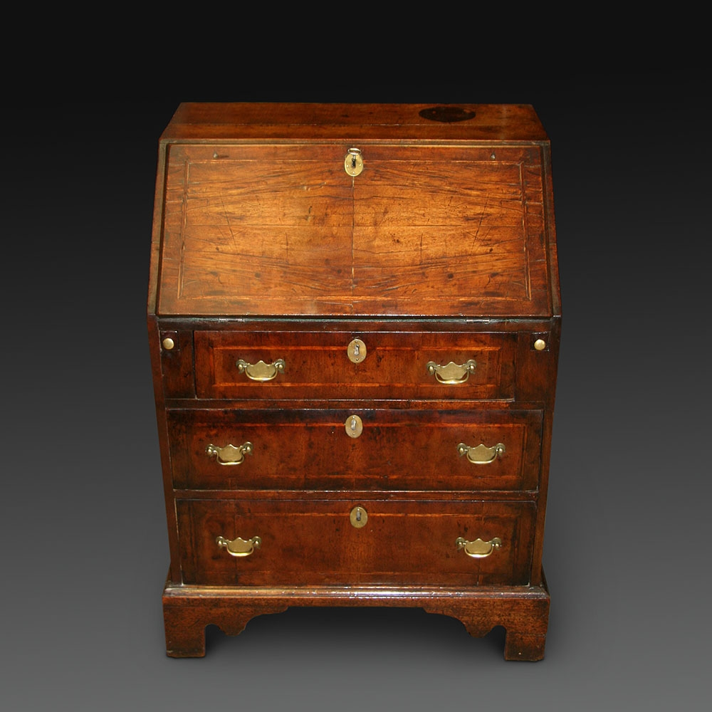 asmallearly18thcenturywalnutbureau, IACF, Love Antiques, Antiques Diva Buying Services, Buying Antiques in Europe, The HighBoy, Antique Young Guns,