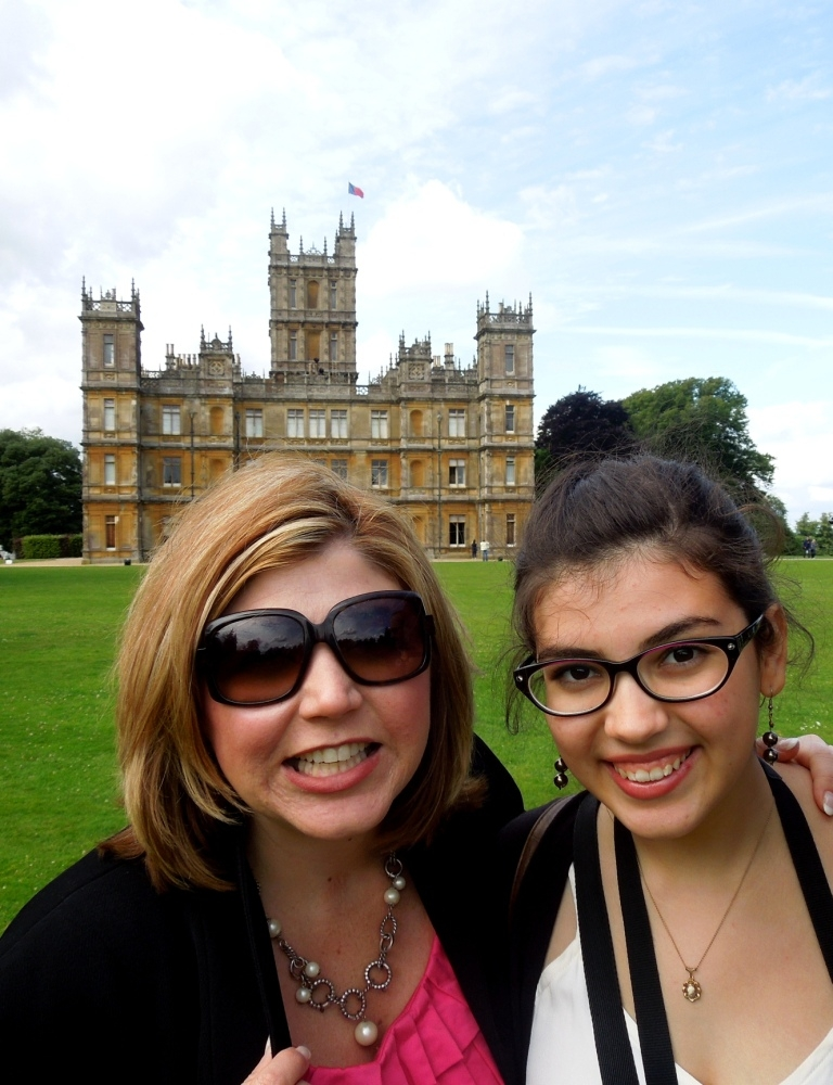 downton abbey, Toma Clark Haines, The Antiques Diva, Highclere Castle