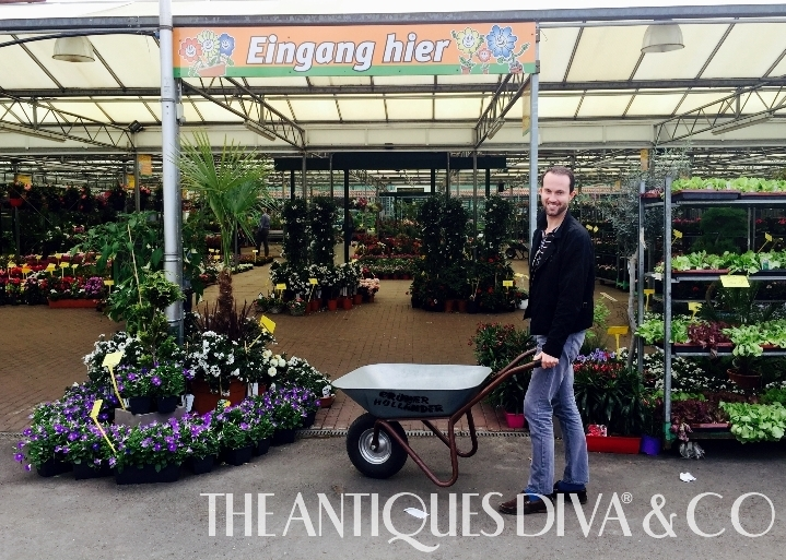 Decorating a Rooftop Terrace, Andrew Skipper Everyday, The Antiques Diva, Berlin Penthouse Apartments, Balcony Gardening, French Café Chairs,