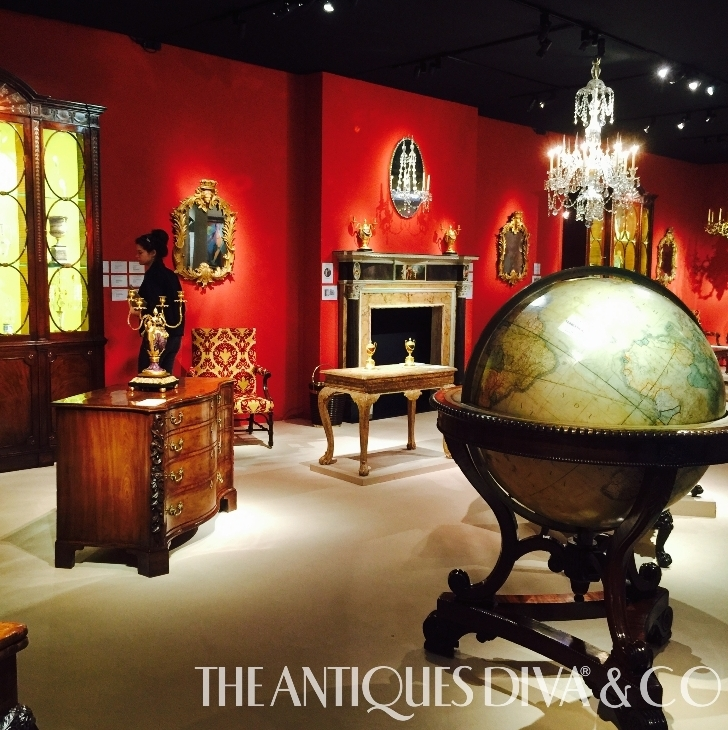 Masterpiece Fair, Olga Granda-Scott, The HighBoy, Toma Clark Haines, The Antiques Diva, English Antiques, TEFAF, Antiques News & Fairs, Siegelson, Apter-Fredericks LTD, George Hepplewhite gentleman's social table, Robert Young, Tomasso Brothers Fine Art, Salvo Fair, Art & Antiques Fairs of Europe