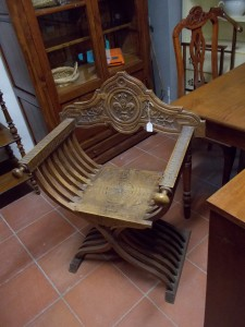 Savonarola Chair Italy