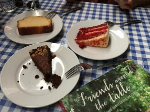 Megan's Cafe in London dessert cake