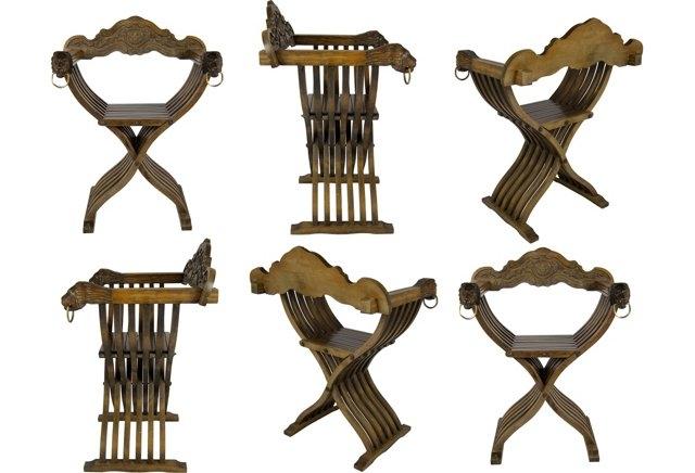 Savonarola Chair The Antiques Divathe Antiques Diva