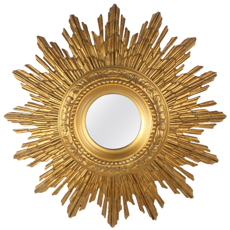 Sunburst Mirrors The Antiques Divathe Antiques Diva