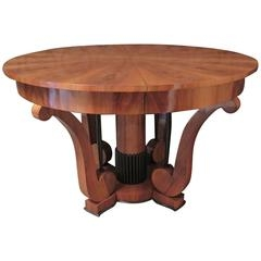 Biedermeier Furniture light wood table