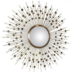 Sunburst Mirrors modern