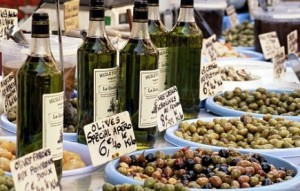 Gifts of Provence-Olive Oil, Soap, Lavender French market Olive Oil and Olives