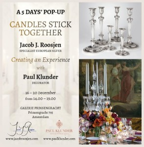 Candles Stick Together-A Pop-Up Shop in Amsterdam