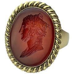 Intaglios ring