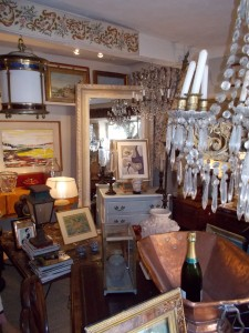 An Afternoon in Cotignac Modes Small Antiques Shop