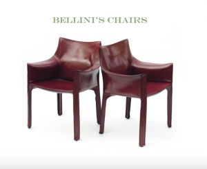 Please Be Seated modern Bellini's Chairs
