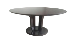 Antiques Diva Styles a Diva Den for Chairish Dining table Barbara Barry