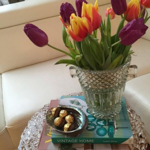 Vintage Home by Judith Miller in coffee table