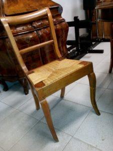 18th century walnut chairs