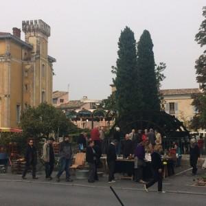 L'isle Sur la Sorgue Market day