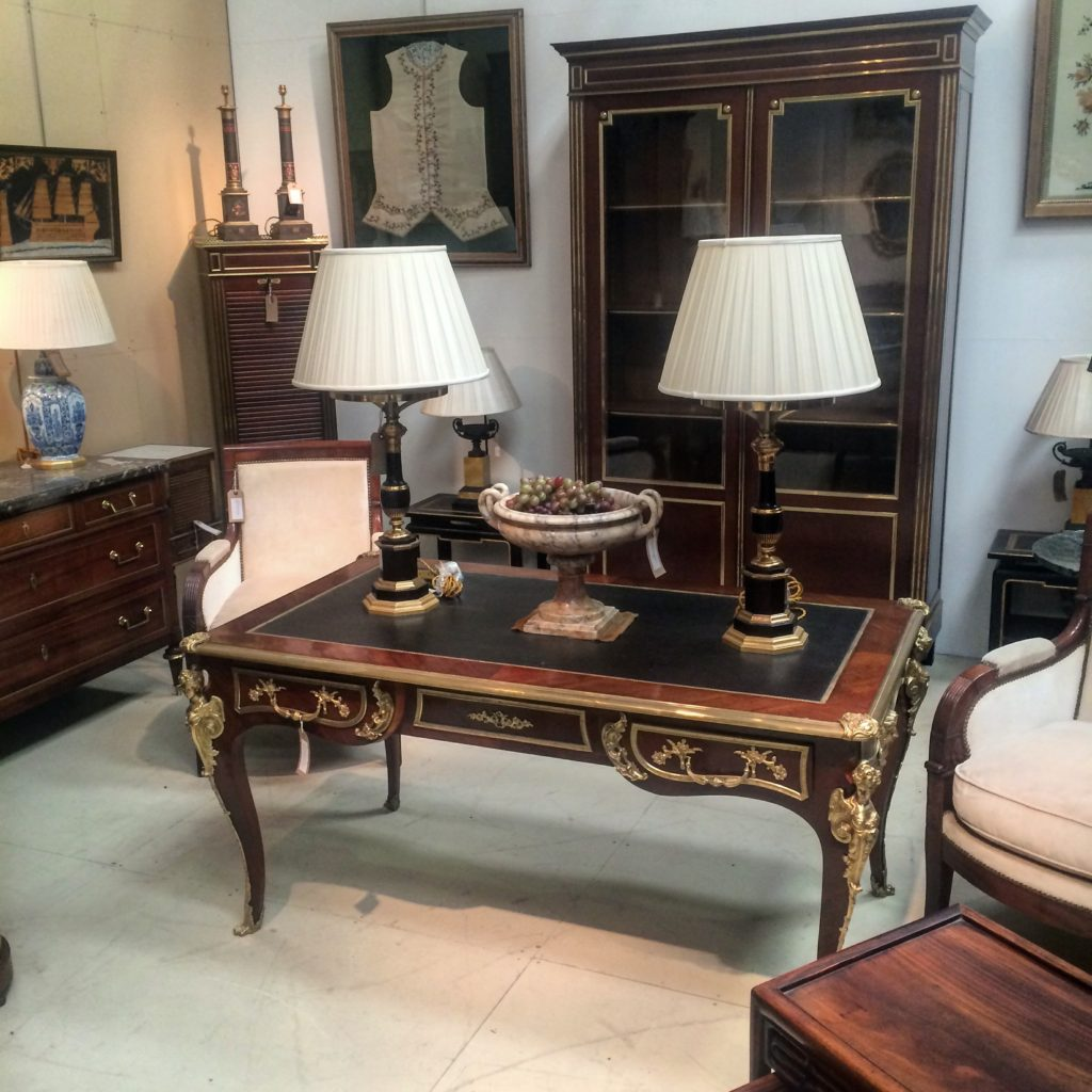 Sourcing Vintage & Antique Lighting in England-Traditional lamps