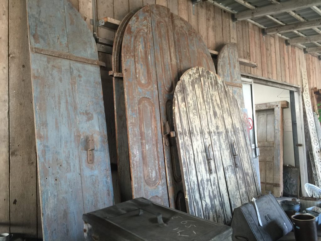 Architectural Salvage- Barn Door Trend- Rounded Doors