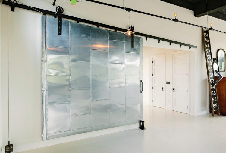Architectural Salvage- Barn Door Trend- Metal Door
