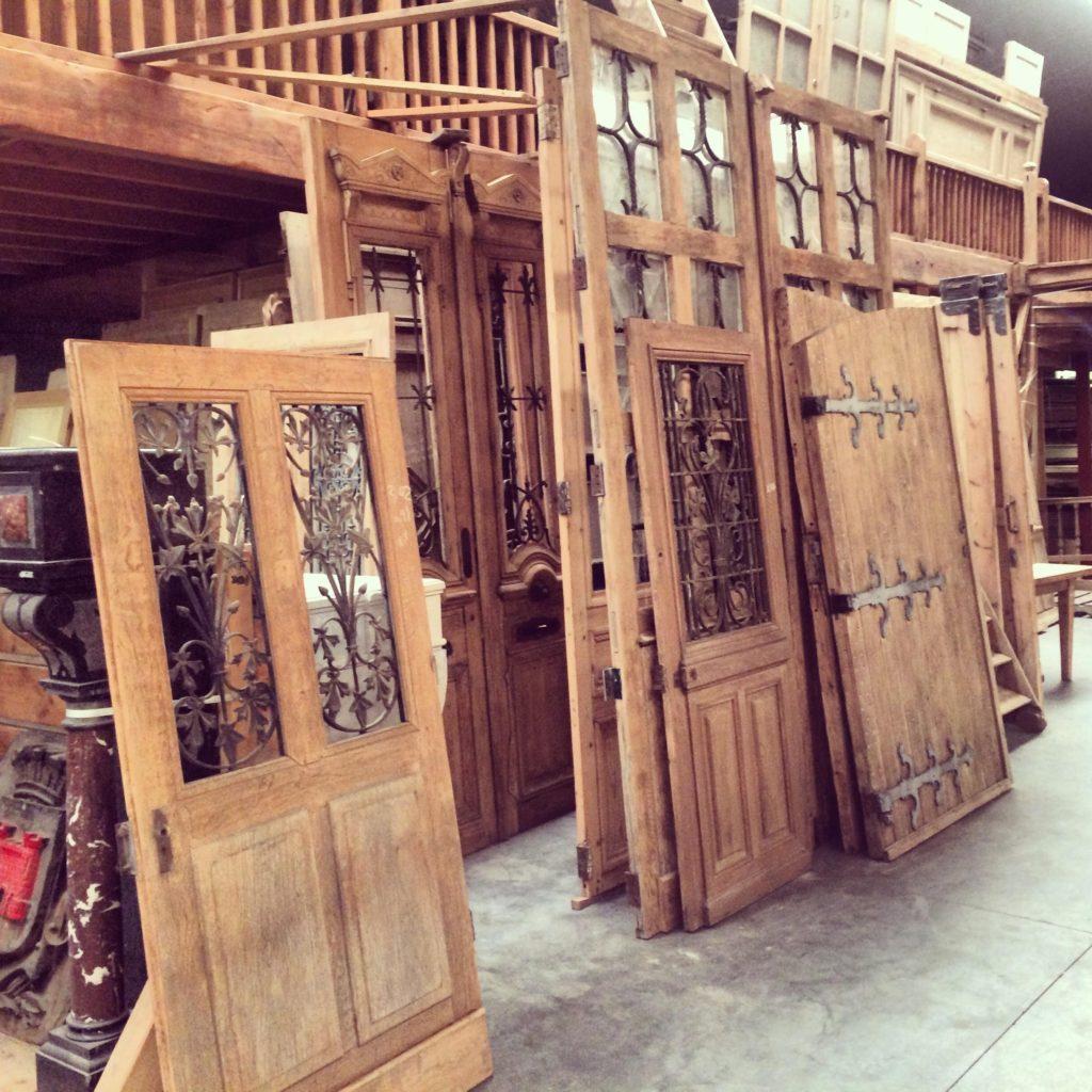 Architectural Salvage- Barn Door Trend- Warehouse