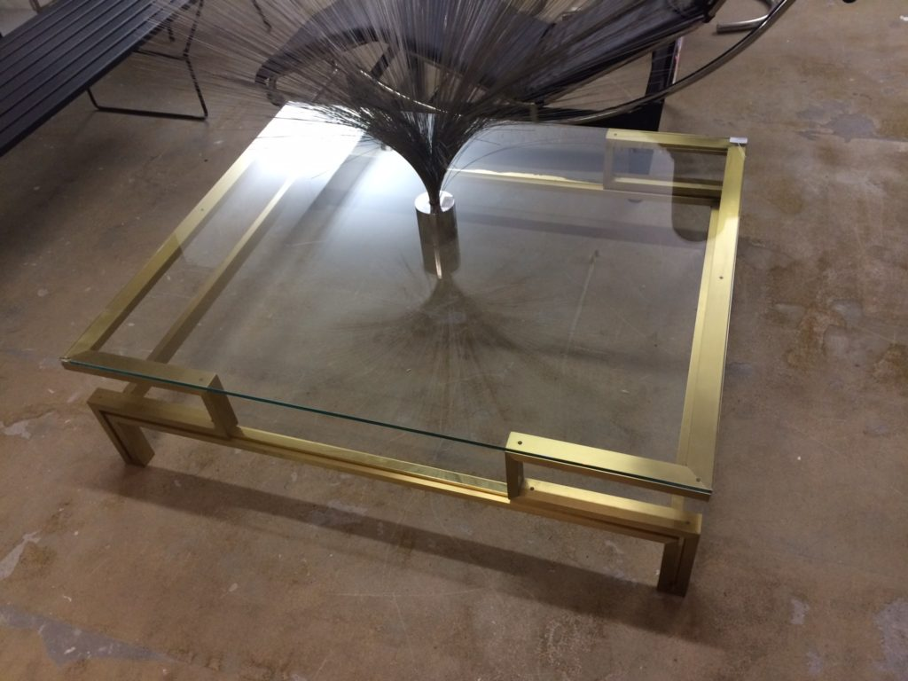 Mid-Century in Belgium-brass table