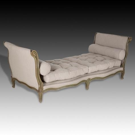 Antique Day Bed-Late 19th C - Louis XV revival daybed