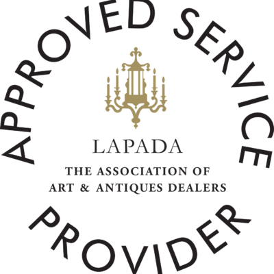 The Antiques Diva & Co is a LAPADA Approved Service Provider - Seal