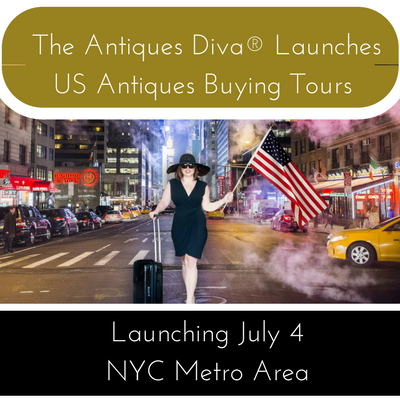 THE ANTIQUES DIVA® LAUNCHES US ANTIQUES BUYING TOURS