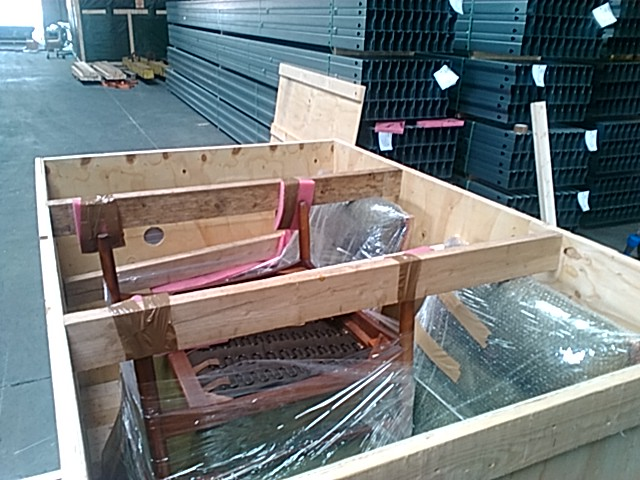 Crating Vintage Furniture For International Shipping By The Antiques Diva U0026  Co