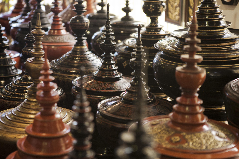 Antique Lacquerware Phnom Penh Cambodia Asia Antiques Buying Tours with The Antiques Diva