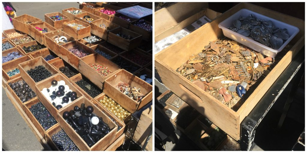 beads & hardware at the Paris Flea Market