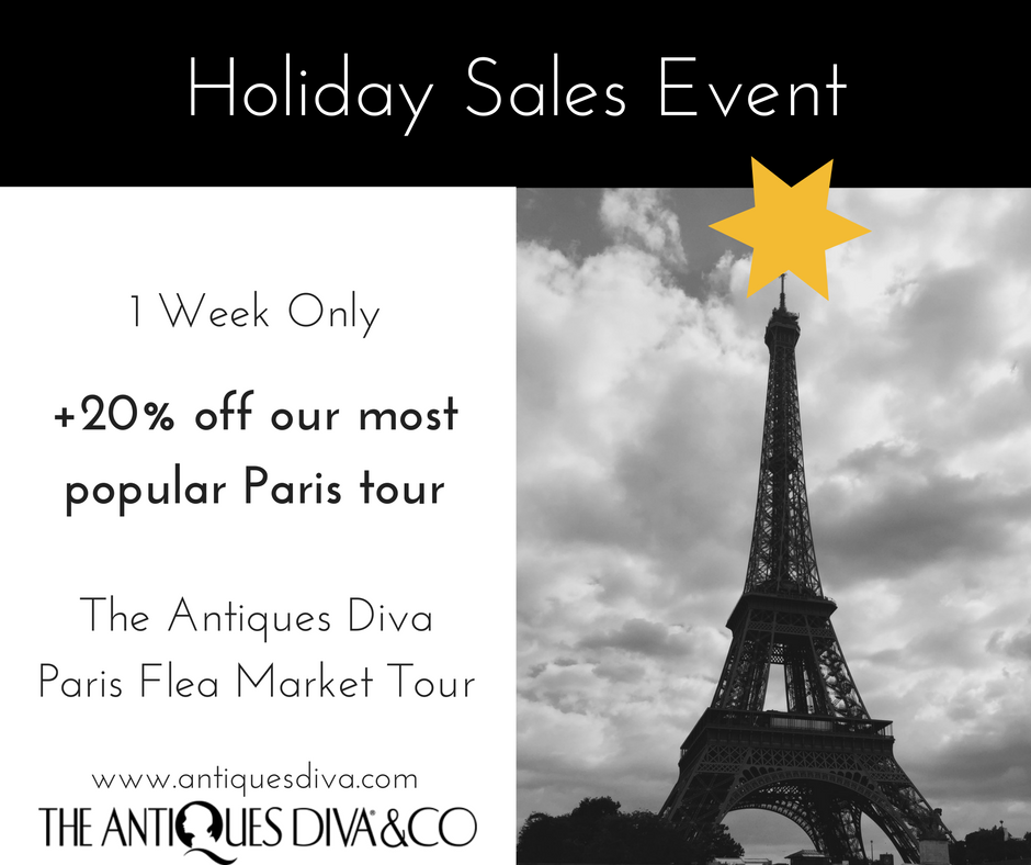Antiques Diva Holiday Sales Event