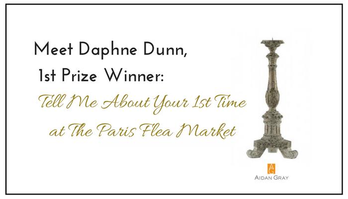 Meet Daphne Dunn: 1st Place Winner: KISMET: My 1st Time at the Paris Flea Market