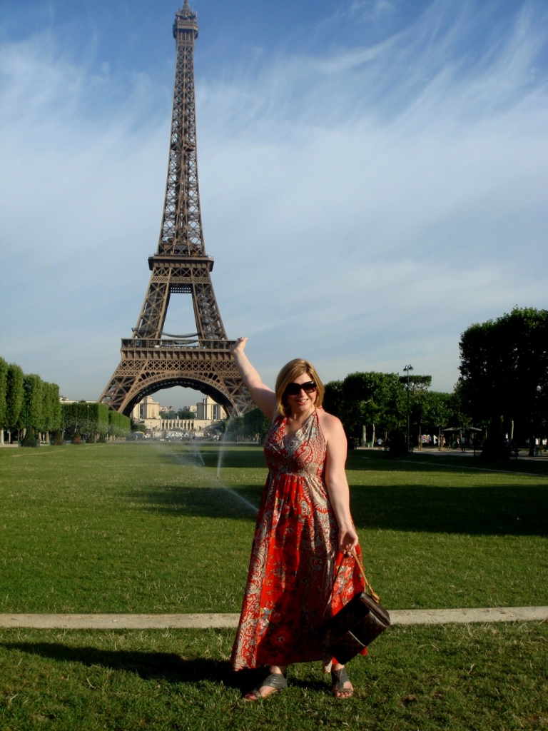Toma Clark Haines in Paris