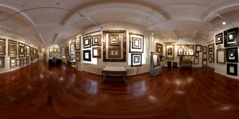 Diego Salazar Antique Frames display rooms