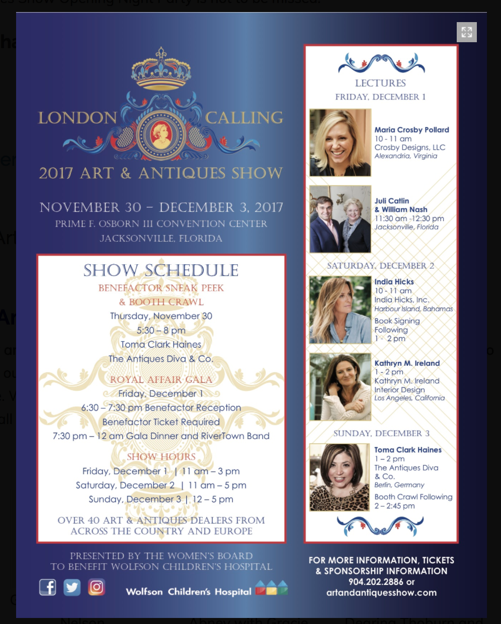 London Calling Art & Antiques Show